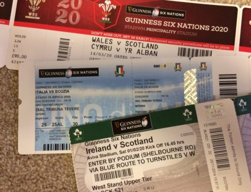 6 Nations 2020 – Ticket Update