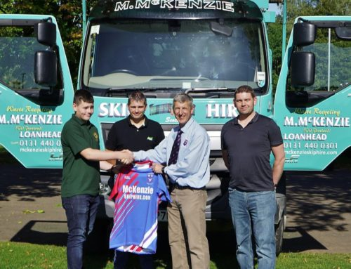 McKenzie Skip Hire renew their sponsorship for another season